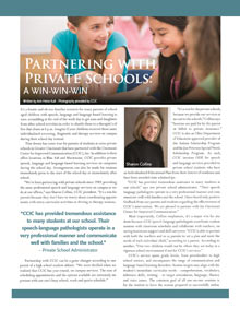 Partnering with Private Schools